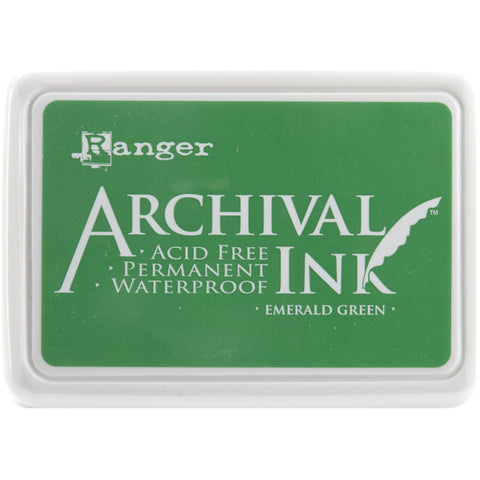 Ranger Archival Ink Pad #0 Emerald Green