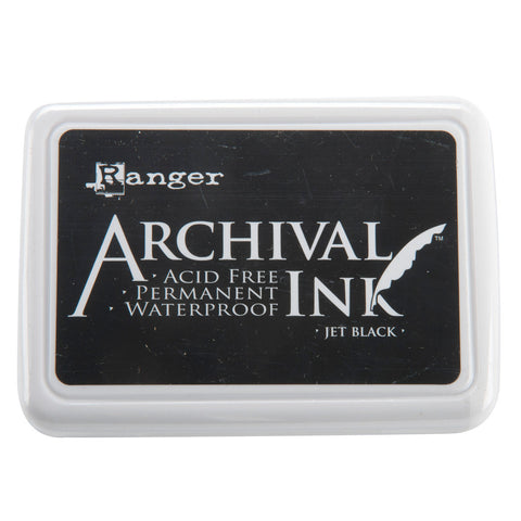 Ranger Archival Ink Pad #0 Jet Black