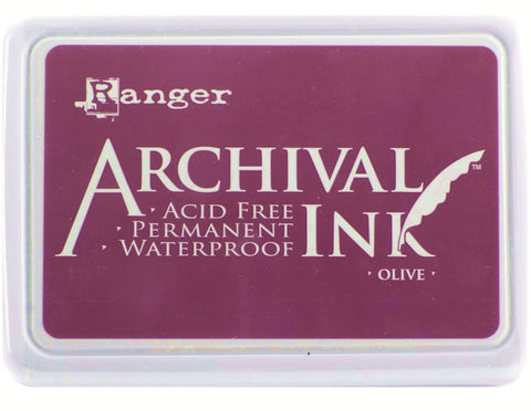 Ranger Archival Ink Pad #0 Plum