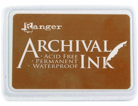 Ranger Archival Ink Pad #0 Sepia