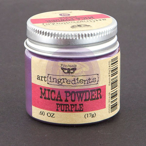 Finnabair Art Ingredients Mica Powder Purple