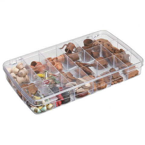 ArtBin Prism Box 18 Compartments Transparent 11.5inx6.625inx1.75in