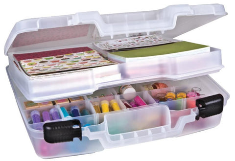 ArtBin Quick View Deep Base Carrying Case with LiftOut Tray