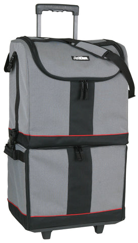 ArtBin Tote Express Black Grey Red