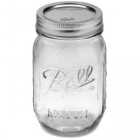 Ball Regular Mouth Canning Jar Pint 12pk