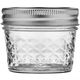 Ball Quilted Crystal Jelly Jar 4oz 12pk