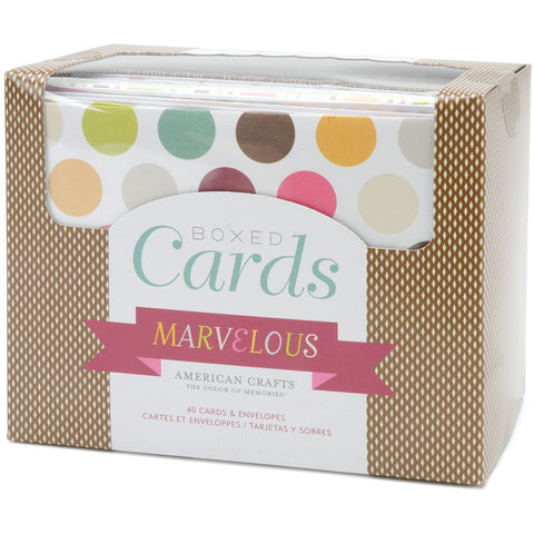 Box of Patterned Cards