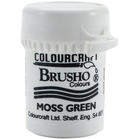 Brusho Crystal Colour Moss Green 15g
