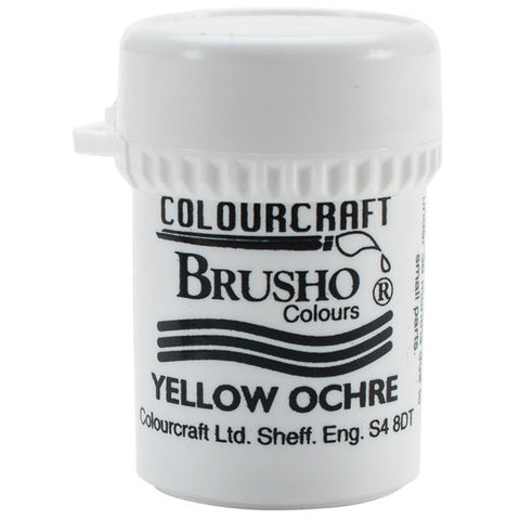 Brusho Crystal Colour Yellow Ochre 15g