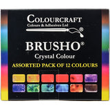 Brusho Crystal Colours Set 12pk