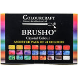 Brusho Crystal Colours Set 24pk