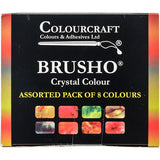 Brusho Crystal Colours Set 8pk