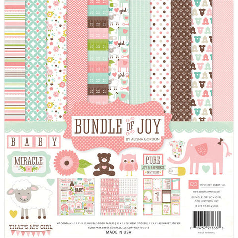 Bundle of Joy Girl Collection Kit 12inx12in