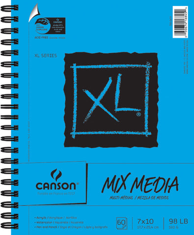 Canson MultiMedia Paper Pad 7inx10in