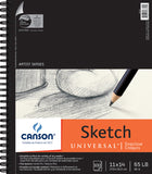 Canson Universal Sketch Paper Pad 11inx14in