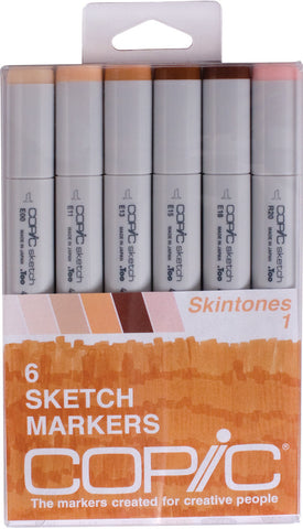 Copic Sketch Marker Skin Tones 1 SKI