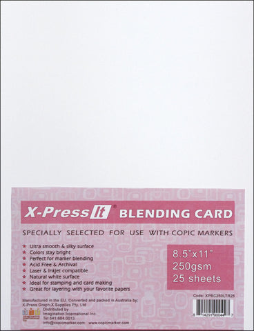 Copic XPress Blending Card White