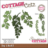 CottageCutz Die Ivy Made Easy 4inx4in