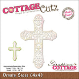 CottageCutz Die Ornate Cross Made Easy 4inx4in