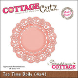 CottageCutz Die Tea Time Doily Made Easy 4inx4in