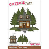 CottageCutz Die Woodland Cabin 4inx6in