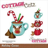 CottageCutz Die Holiday Cocoa