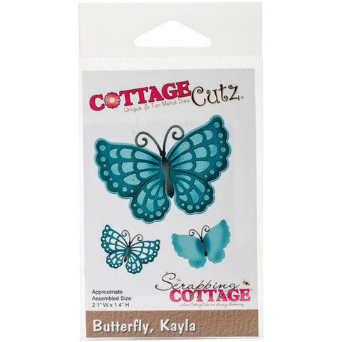 CottageCutz Die Kayla Butterfly