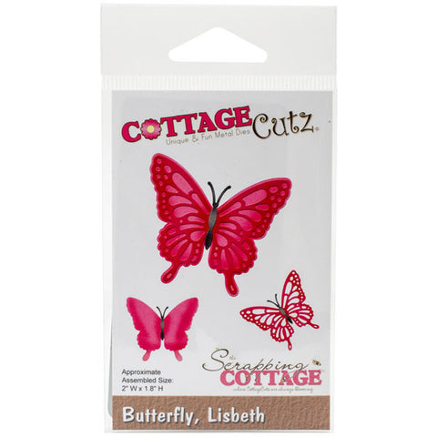 CottageCutz Die Lisbeth Butterfly