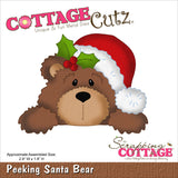 CottageCutz Die Santa Bear