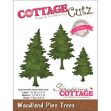 CottageCutz Elites Die Woodland Pine Trees 1.5inx2.5in