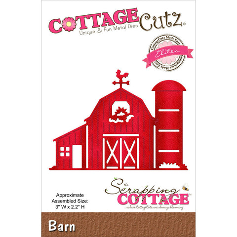 CottageCutz Elites Die Barn 3inx2.2in