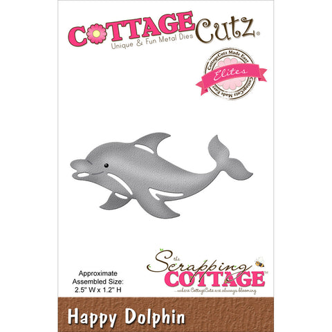 CottageCutz Elites Die Happy Dolphin