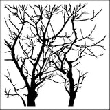 The Crafter's Workshop Template Branches Reversed 12inx12in