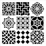 The Crafter's Workshop Template Moroccan Tiles 12inx12in