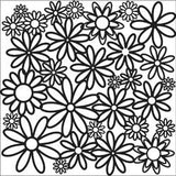 The Crafter's Workshop Template Daisy Cluster 6inx6in
