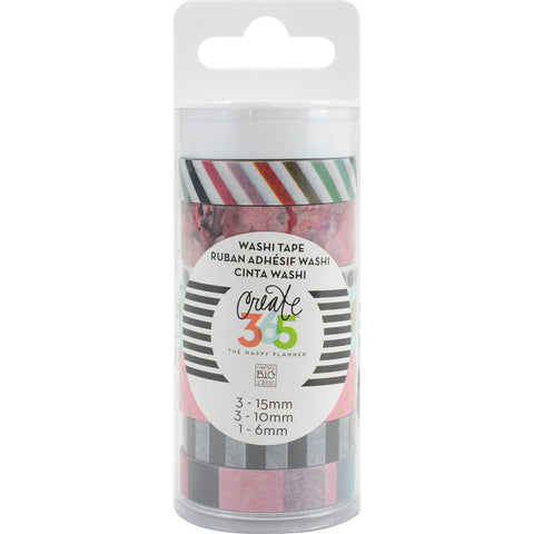 Create 365 Happy Planner Washi Tape Peony Floral
