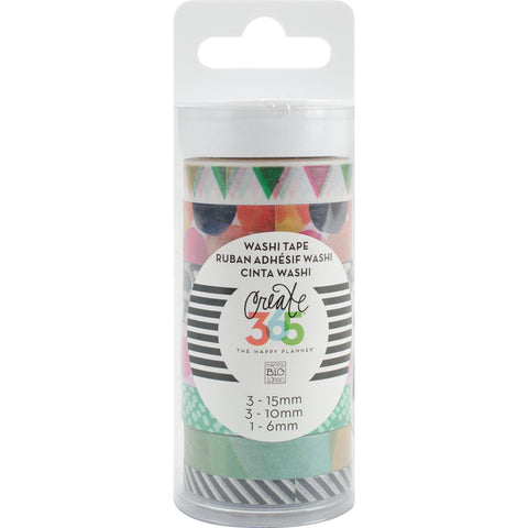 Create 365 Happy Planner Washi Tape Watercolor