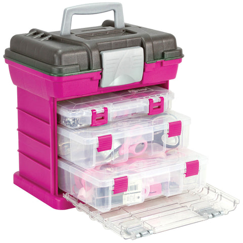 Creative Options Grab'n Go 3-By Rack System Magenta Sparkle Gray