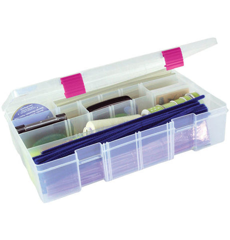 Creative Options Pro Latch Deep Utility Box Clear Magenta