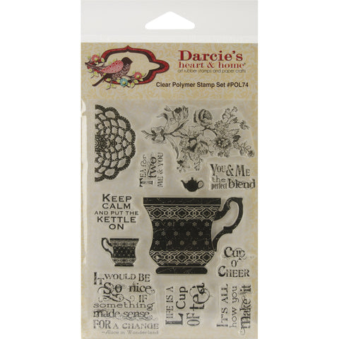 Darcie's Clear Stamp Set Cup Of Tea