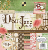 Diecuts with A View Dear Jane Paper Stack 12inx12in