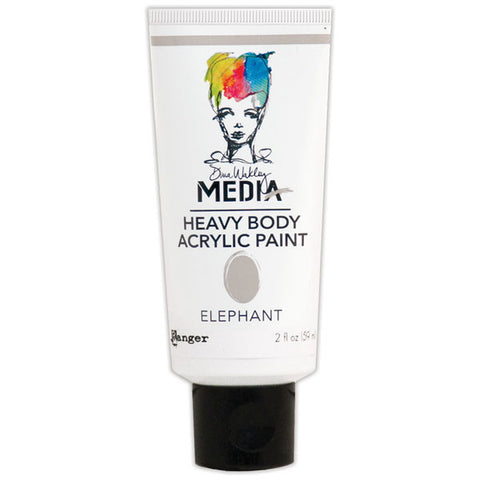 Dina Wakley Media Heavy Body Acrylic Paint Elephant