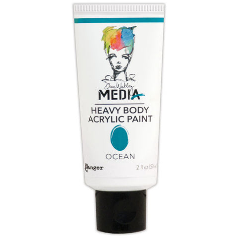 Dina Wakley Media Heavy Body Acrylic Paint Ocean