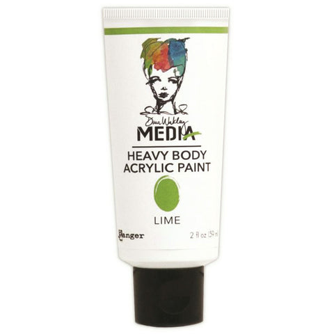 Dina Wakley Media Heavy Body Acrylic Paints Lime