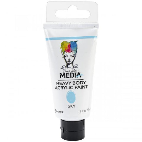 Dina Wakley Media Heavy Body Acrylic Paints Sky