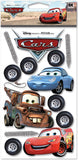 Disney Cars Dimensional Stickers Cars