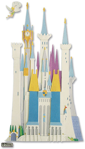 Jolee's Disney Dimensional Stickers Disney Castle