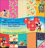 Disney DoubleSided Specialty Paper Pad Mickey Family 12inx12in