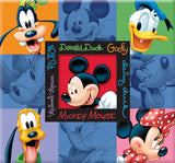 Disney Embossed Scrapbook Mickey and Friends 12inx12in