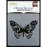 "Donna Downey Signature Stencils 8.5""x8.5"" - Butterfly"